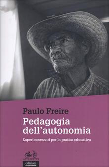 Parcoarenas.it Pedagogia dell'autonomia. Saperi necessari per la pratica educativa Image