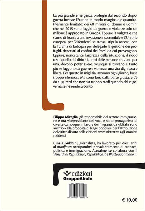 Rifugiati. Conversazioni su frontiere, politica e diritti - Filippo Miraglia,Cinzia Gubbini - 2