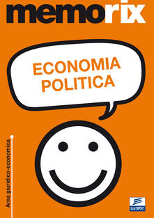 Economia politica - Angela Ciavarella - copertina