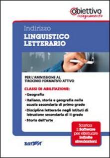 Steamcon.it 2 TFA. Indirizzo linguistico letterario. Per l'ammissione al tirocinio formativo attivo. Con software di simulazione Image
