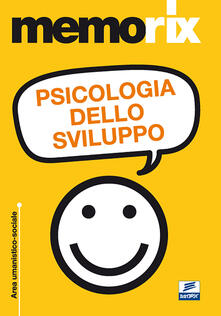 Psicologia dello sviluppo - Karin Guccione - copertina