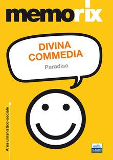Divina Commedia. Paradiso - Angelo Porcaro - copertina