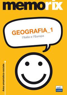 Nicocaradonna.it Geografia. Vol. 1: L'Italia e l'Europa. Image
