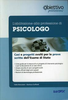 Voluntariadobaleares2014.es L' abilitazione alla professione di psicologo. Casi clinici e progetti svolti per le prove scritte dell'esame di Stato Image