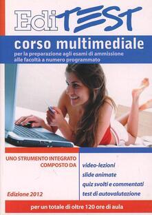 Corso di preparazione multimediale per l'accesso alle facoltà a numero chiuso. Area medico-scentifica. Con DVD-ROM - copertina