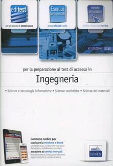 EdiTEST 4. Esercizi. Ingegneria. Per la preparazione ai test di ammissione. Con espansione online.pdf