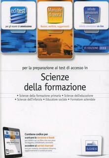 EdiTEST 6. Manuale. Scienze della formazione. Per la preparazione ai test di ammissione. Con espansione online.pdf