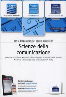 EdiTEST 8. Esercizi. Scienze della comunicazione. Per la preparazione ai test di ammissione. Con espansione online - copertina