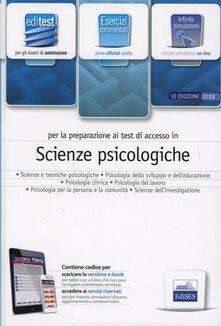 EdiTEST 7. Esercizi. Scienze psicologiche. Per la preparazione ai test di ammissione. Con espansione online - copertina