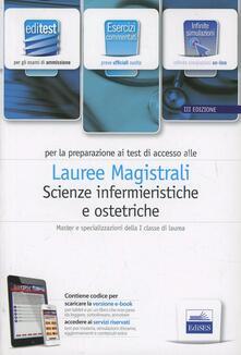 Editest. Scienze infermieristiche ed ostetriche. Esercizi. Per la preparazione ai test di ammissione. Con espansione online - copertina