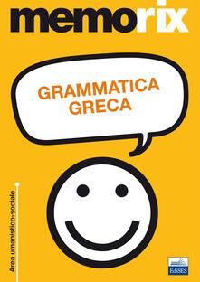 Grammatica greca - Enrico Renna - copertina