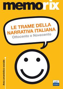 Osteriacasadimare.it Le trame della narrativa italiana. Ottocento e Novecento Image