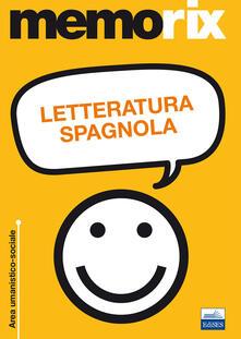 Letteratura spagnola - Sara Mayol,Titti Portolano - copertina