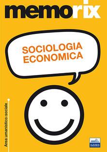 Sociologia economica - Livio Santoro - copertina
