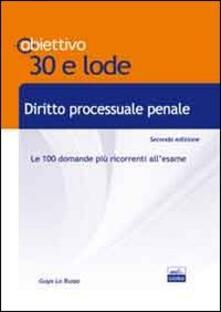 Cocktaillab.it TL 10. Diritto processuale penale. Le 100 domande più ricorrenti all'esame Image