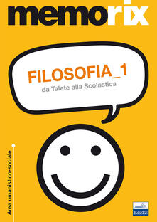 Mercatinidinataletorino.it Filosofia. Vol. 1: Da Talete alla Scolastica. Image