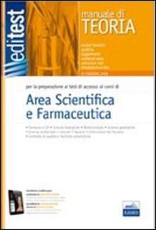 EdiTEST. Farmacia e scienze. Per la preparazione ai test di accesso - copertina