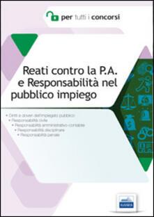 Antondemarirreguera.es Reati contro la P.A. e responsabilità nel pubblico impiego. Diritti e doveri dell'impiegato pubblico Image