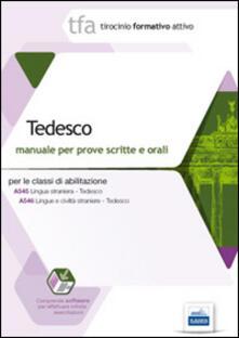 TFA. Tedesco. Manuale per le prove scritte e orali classi A545.pdf