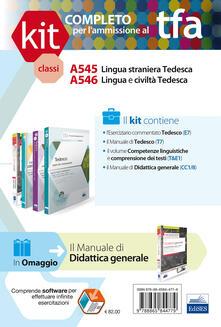 TFA. Classi A545-A546 per prove scritte e orali. Manuali di teoria ed esercizi di lingua e cultura tedesca. Kit completo. Con software di simulazione.pdf