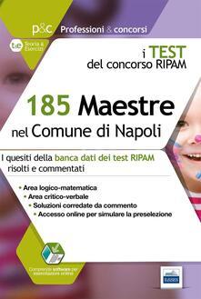 Voluntariadobaleares2014.es 185 maestre nel comune di Napoli. I test del concorso Ripam Image
