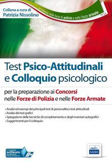 Antondemarirreguera.es TT2. Test psico-attitudinali e colloquio psicologico. Concorsi nelle Forze di Polizia e nelle Forze Armate. Con software di simulazione Image