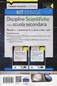 Steamcon.it CC 4/28 CC 4/29 Discipline scientifiche nella scuola secondaria. Manuali... Classi di concorso: A28, A50, A059, A060. Kit di base. Con espansione online Image