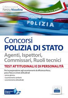 PS 4/0. Test attitudinali e di personalità per agenti, ispettori, commissari, ruoli tecnici. Con espansione online - copertina