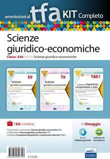 TFA. Scienze giuridico-economiche classe A46 (A019) per prove scritte e orali. Kit completo. Con software di simulazione.pdf