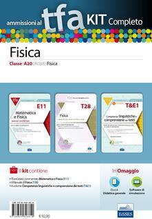 Camfeed.it TFA. Fisica classe A20 (A038) per prove scritte e orali. Kit completo. Con software di simulazione Image