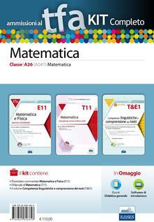 Filmarelalterita.it TFA. Matematica classe A26 (A047) per prove scritte e orali. Kit completo. Con software di simulazione Image