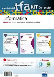 Criticalwinenotav.it TFA. Scienze e tecnologie informatiche classe A41 (A042) per prove scritte e orali. Kit completo. Con software di simulazione Image