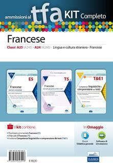 Winniearcher.com TFA. Francese classi A25 (A245), A24 (A246) per prove scritte e orali. Kit completo. Con software di simulazione Image