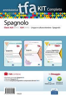 Liberauniversitascandicci.it TFA. Spagnolo classi A25 (A445), A24 (A446) per prove scritte e orali. Kit completo. Con software di simulazione Image