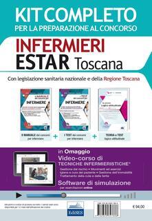 Concorso Infermieri Estar Toscana. Kit completo per tutte le prove del concorso 2016 e software di simulazione. Con e-book - copertina