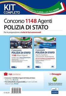 Concorso 1148 allievi agenti polizia di Stato. Manuale per la preparazione a tutte le fasi concorsuali. Kit completo. Con aggiornamento online.pdf