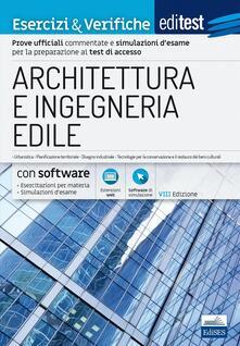Daddyswing.es EdiTEST. Architettura ed ingegneria edile. Esercizi & verifiche. Con espansione online Image