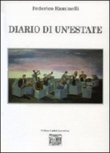 Diario di un'estate - Federico Raminelli - copertina