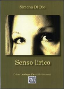 Senso lirico - Simona Di Dio - copertina