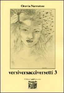 Versiversacciversetti. Vol. 3
