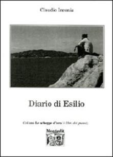 Diario di esilio - Claudio Inconis - copertina