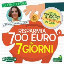 Camfeed.it Risparmia 700 euro in 7 giorni. Per ridurre le spese e autoprodurre in casa Image