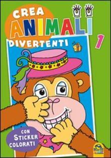 Criticalwinenotav.it Crea animali divertenti. Con adesivi. Vol. 1 Image