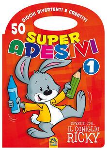 Antondemarirreguera.es Divertiti con il coniglio Ricky. Super adesivi. Vol. 1 Image