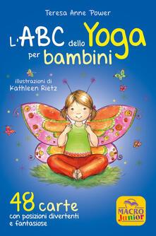 Listadelpopolo.it L' ABC dello yoga per bambini. 48 carte con posizioni divertenti e fantasiose Image