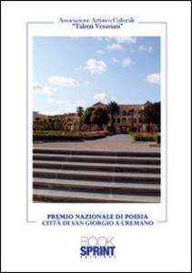 Premio nazionale di poesia. Città di San Giorgio a Cremano