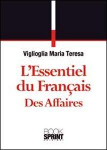 L' essentiel du Français des affaires