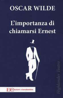 Antondemarirreguera.es L' importanza di chiamarsi Ernest Image