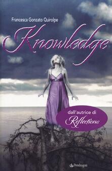 Knowledge - Francesca Gonzato Quirolpe - copertina