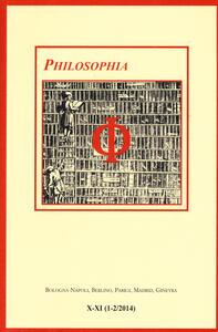 Philosophia. Bollettino della società italiana di storia della filosofia (2015). Vol. 10